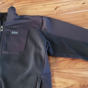 Helly Hansen Jackets & Coats - Helly Hansen Men's Black Fleece Jacket size XL